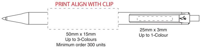 BiC Clic Stic G1112 pen wire