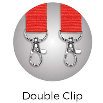 Lanyard Double Clip Attachment