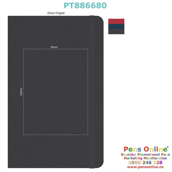 Digital Print Template for Pierre Cardin A5 Notebook