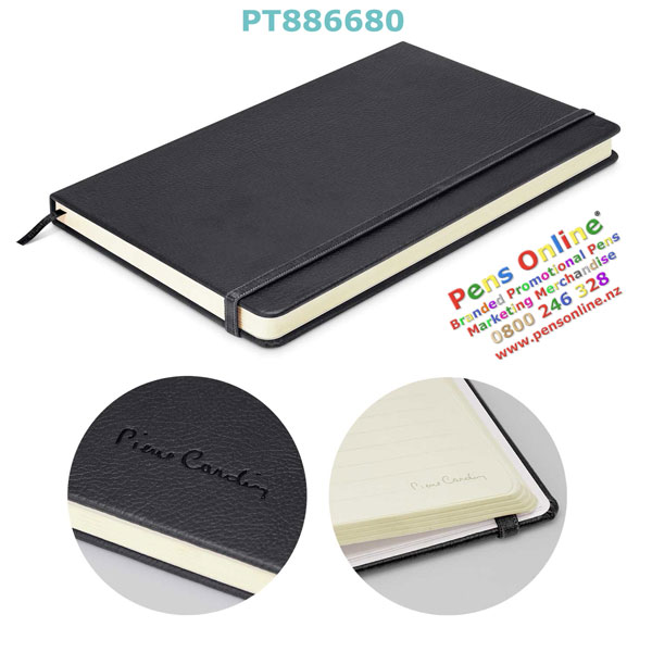 Pierre Cardin A5 Notebook Black