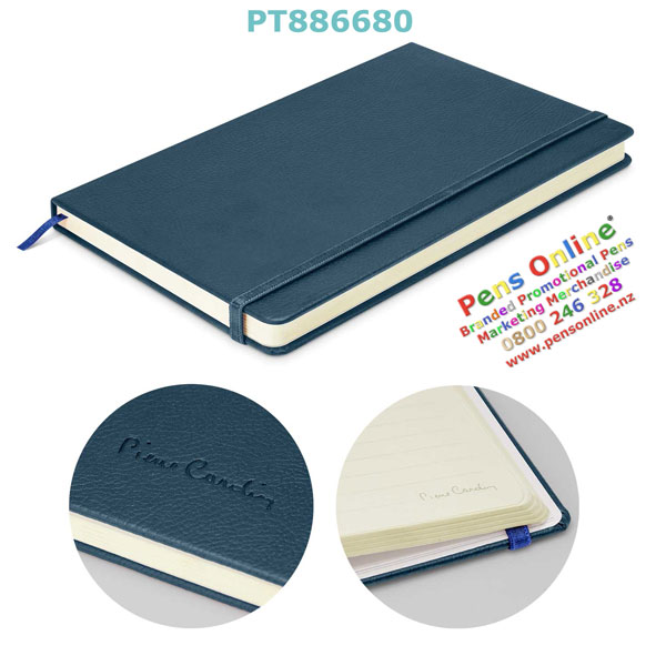 Pierre Cardin A5 Notebook Blue