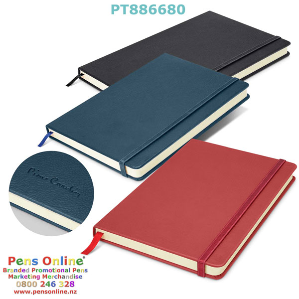 Pierre Cardin A5 Notebook Colours