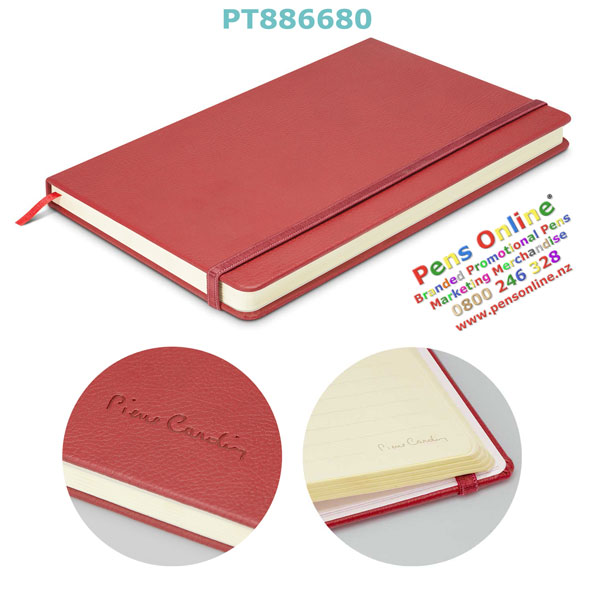 Pierre Cardin A5 Notebook - Burgundy