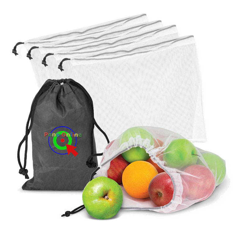 Reusable Produce Bags - Set of 5 (L 180mm x W 124mm)