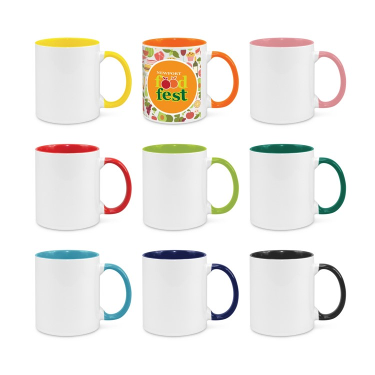 Mission Bay 2-tone Coffee Mug (full colour incl)