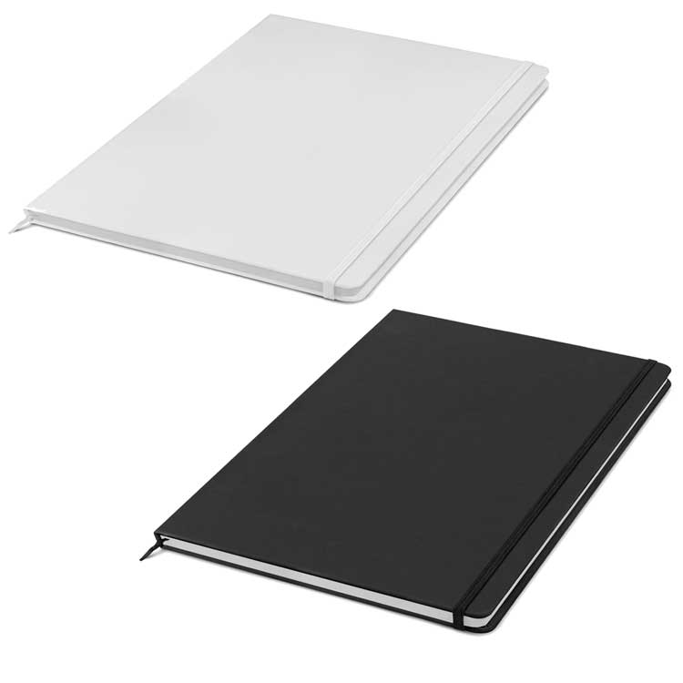 A4 Notebook White and Black