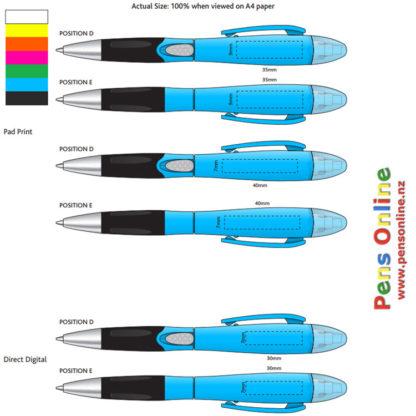 Highlighter pen - template