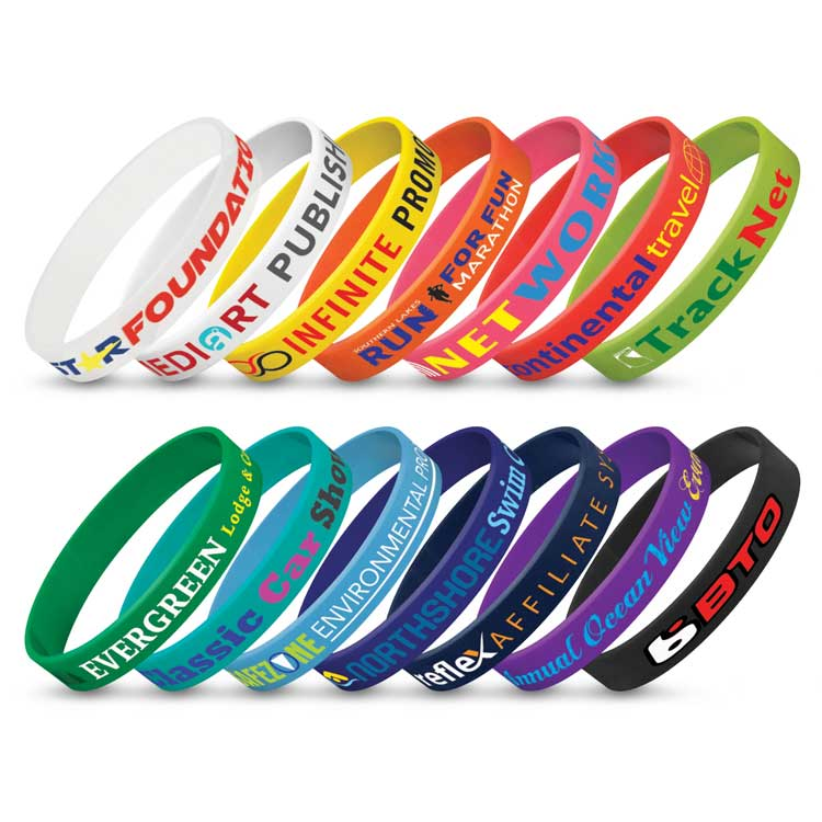 Silicon Wrist Bands