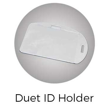 Lanyard Duet ID Holder