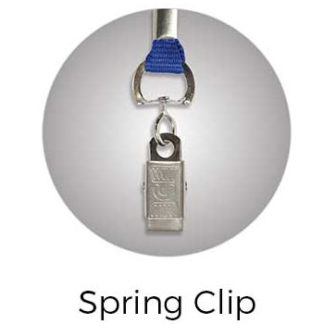 Lanyard Spring Clip Attachment